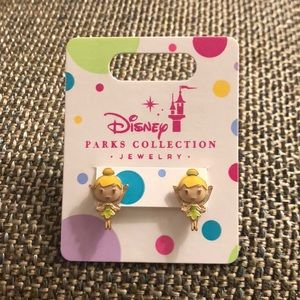 Disney Parks Collection Tinkerbell Earrings